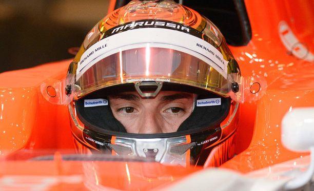 Jules Bianchia pidettiin erittäin lahjakkaana kuskina.