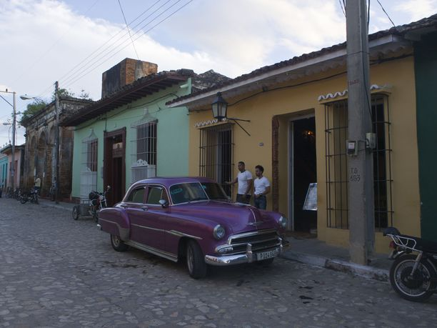 Trinidad on suosittu turistien keskuudessa.