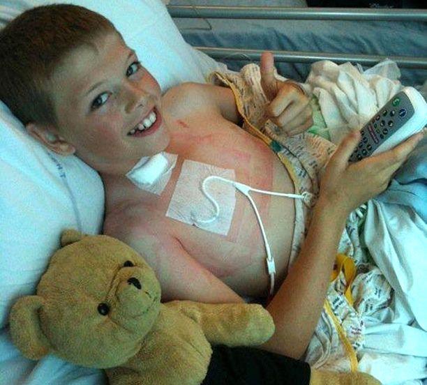 Sairaalakierre alkoi, kun Derryn oli 10-vuotias.