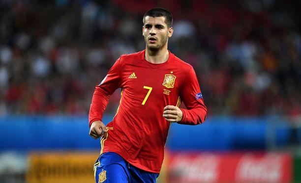 Espanjalla oli varaa jättää jopa Alvaro Moratan tasoinen kärkimies ulos.