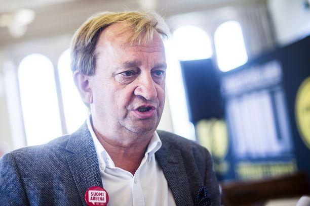 """Kokoomuksen kansanedustaja Harry """"Hjallis"""" Harkimo eroaa puolueesta."""