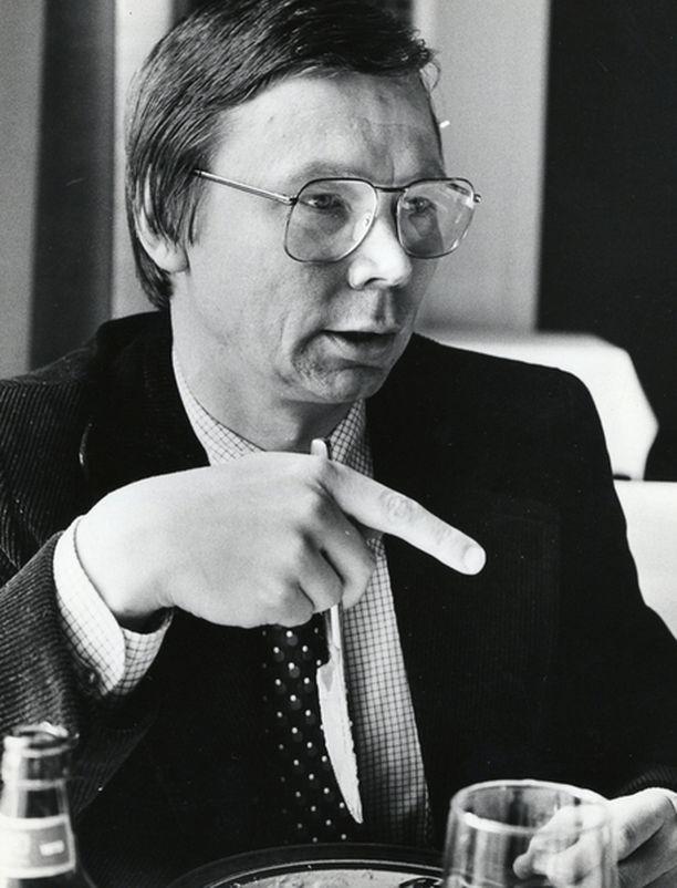 Kari Pekkonen toimi SDP:n eduskuntaryhmän sihteerinä vuonna 1978, jolloin myös Anna Halonen syntyi.