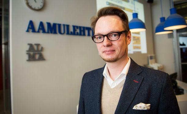 Aamulehden päätoimittaja Jussi Tuulensuu toimii vt. vastaavana päätoimittajana rekryn ajan.