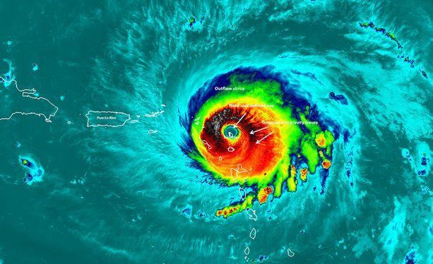 Irma-hurrikaanin kuolonuhrien määrä ei ole vielä tiedossa.