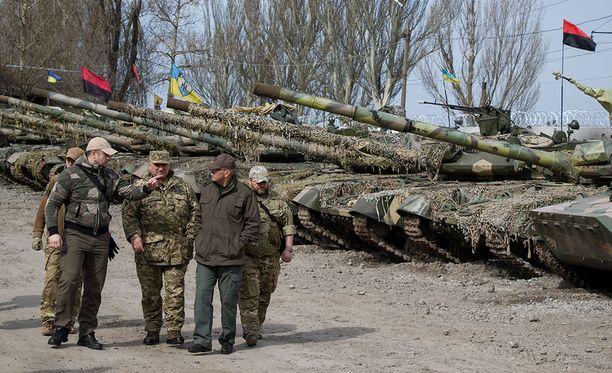 Tuhansia ihmisiä on kuollut Ukrainan sodan syttymisen jälkeen vuonna 2014.