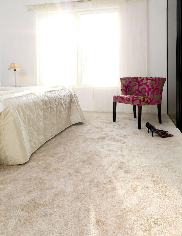 Makuuhuoneen kokolattiamaton suosio on ollut voimakkaassa kasvussa.