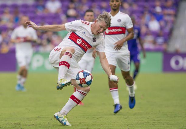Bastian Schweinsteiger pelasi viimeisen kerran sunnuntaina.