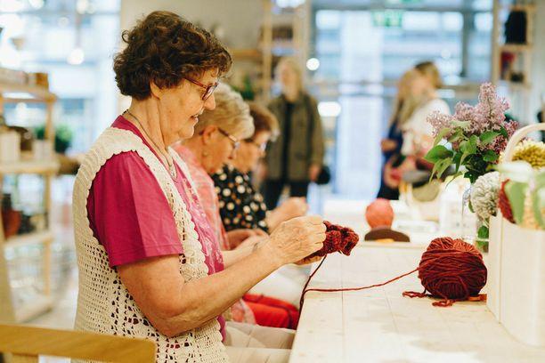 Myssymummot vierailivat designliike World of TRE:ssa järjestetyssä aamiaistilaisuudessa Fashion in Helsinki -viikolla toukokuussa.