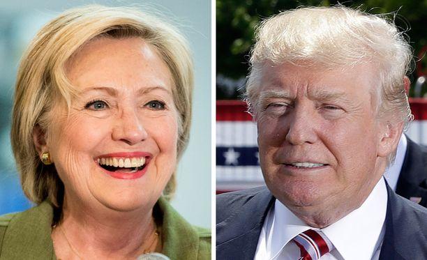 Yhdysvallat valitsee uuden presidentin tiistaina 8. marraskuuta.