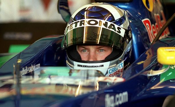 Kimi Räikkönen ajoi viimeksi Sauberilla 17 vuotta sitten.