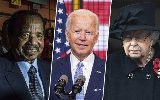 Maansa vanhimmaksi presidentiksi nouseva Joe Biden viettää syntymäpäivää – nämä valtionjohtajat ovat häntäkin iäkkäämpiä