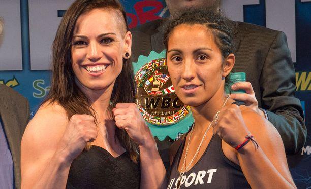 Eva Wahlström taistelee lauantaina Hartwall-areenalla MM-vyöstä Natalia Vanesa del Valle Aguirrea vastaan.
