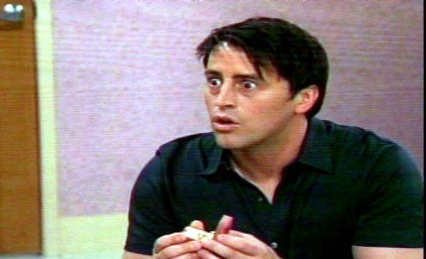 """Näin nuorelta """"Joey"""" näytti vuonna 2002."""