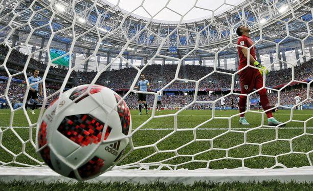 Fernando Muslera hörppäsi karusti Ranskan 2-0-maalin.