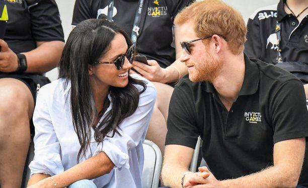Meghan Markle ja prinssi Harry näyttäytyivät avoimesti yhdessä Invictus Games -tapahtumassa Torontossa.