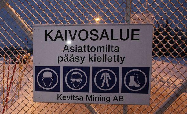 Kevitsan kaivos sijaitsee Sodankylässä. Arkistokuva.