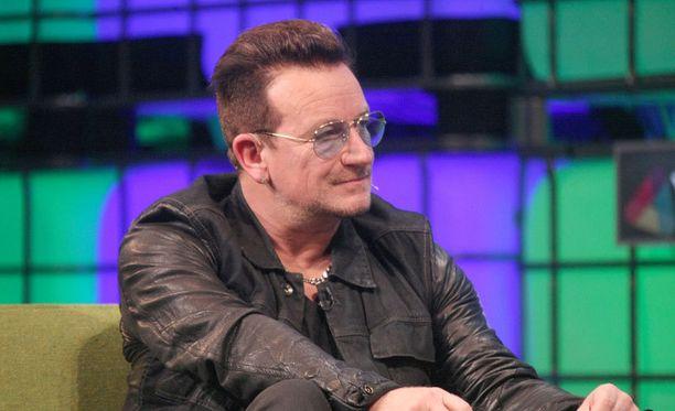 Bonon luotsaama U2 on yksi maailman tunnetuimmista rockyhtyeistä.
