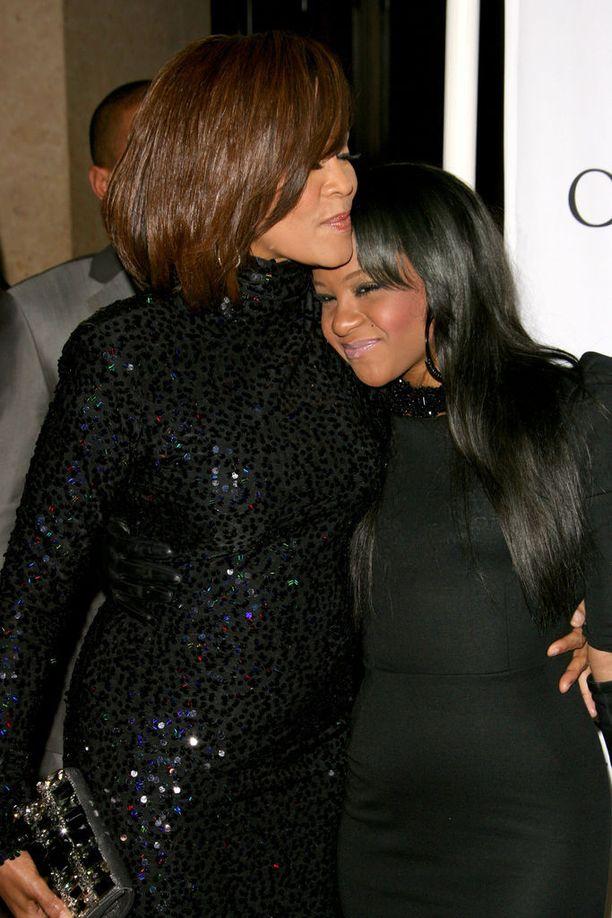 Bobbi Kristina on Whitney Houstonin ainoa lapsi.