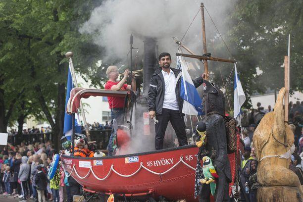 Viranomaisten näkökulmasta Kotkan Meripäivät ovat olleet sangen rauhalliset juhlat viime vuosina.