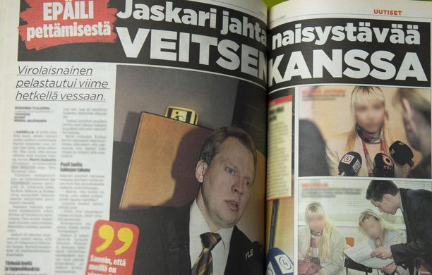 Iltalehti uutisoi vuonna 2007 kokoomuspoliitikko Harri Jaskarin tuomiosta, jossa rikosnimikkeenä oli laiton uhkaus ja uhrina hänen naisystävänsä.