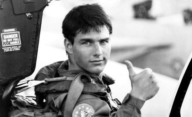 Tom Cruise teki läpimurtonsa Top Gun -elokuvassa.