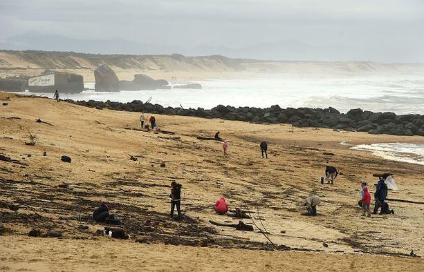 Capbretonin rannoilta on löytynyt viime päivinä kokaiinipusseja.