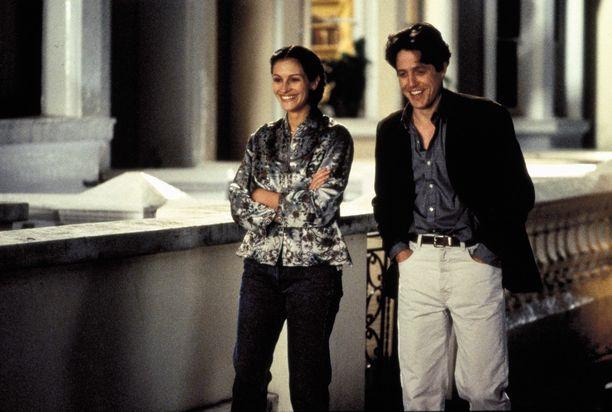 Julia Robertsin esittämä näyttelijätähti ja Hugh Grantin näyttelemä kirjakauppias rakastuvat.