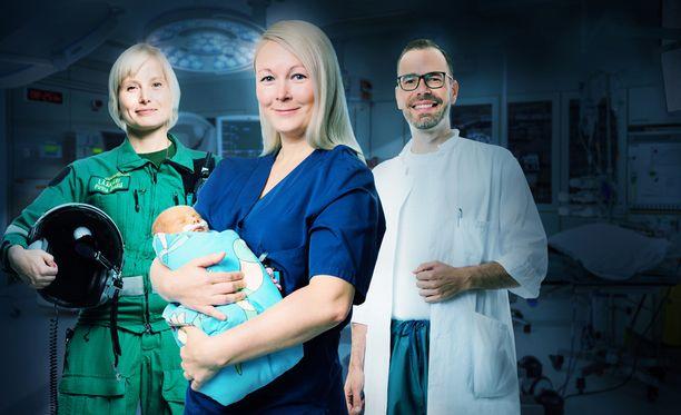 Elossa 24h -sarja seuraa sairaala-arkea ympäri Suomen.