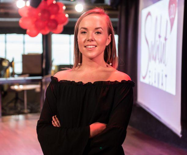 Sara Parikka on näytellyt Salkkareissa jo 11 vuotta.