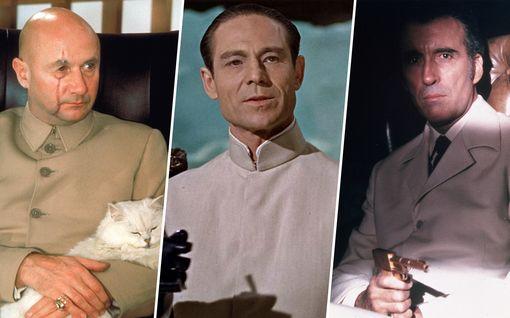 Muistatko nämä 007-elokuvien legendaariset konnat?
