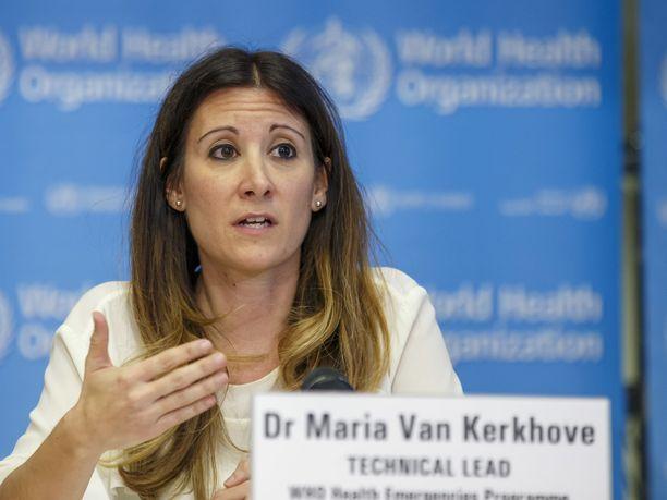 WHO:n koronaviruksen tekninen johtaja Maria Van Kerkhove.