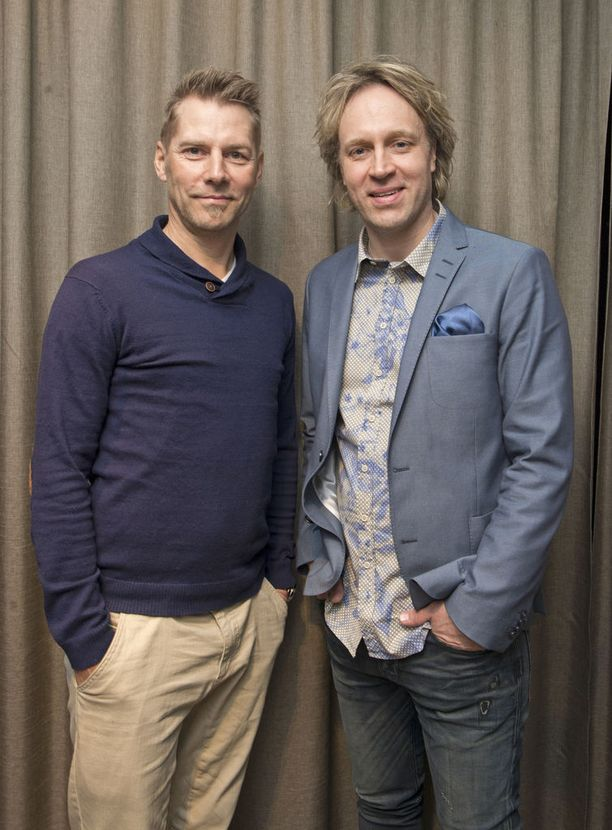 Harri Syrjänen ja Kari Aihinen ovat tuttuja tv-kokkeja.