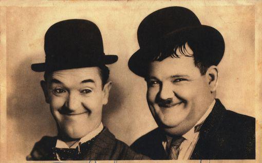 Ohukainen ja paksukainen ovat komedian kenties ikonisin duo - mutta tiesitkö, ettei heillä aluksi edes synkannut?
