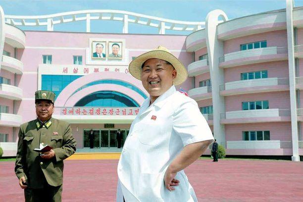 Kim Jong-un kuvattiin kuun alussa vierailemassa juuri avatussa orpokodissa ja päiväkodissa Wonsanissa.