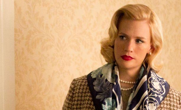 January Jones nähtiin Betty Draperin roolissa 2007-2015.