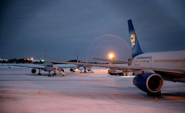 Miehen sydän pysähtyi Rovaniemen lentoasemalla viime lauantaina.