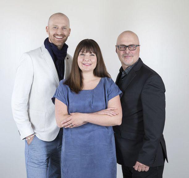 Teologian tohtori ja tutkija Jason Lepojärvi, logo- ja seksuaaliterapeutti Elina Tanskanen ja psykologi ja kirjailija Tony Dunderfelt jatkavat asiantuntijoina.