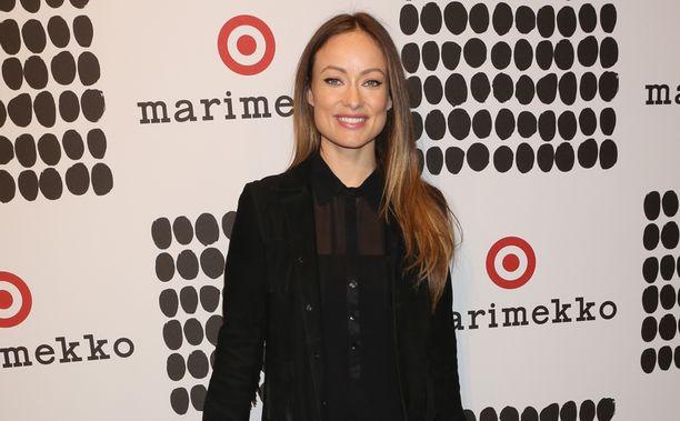 Olivia Wilde edusti huhtikuun alussa Marimekon tilaisuudessa Yhdysvalloissa.