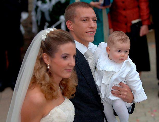 Tessyn ja Louisin esikoispoika Gabriel syntyi maaliskuussa, häitä juhlittiin syyskuussa.