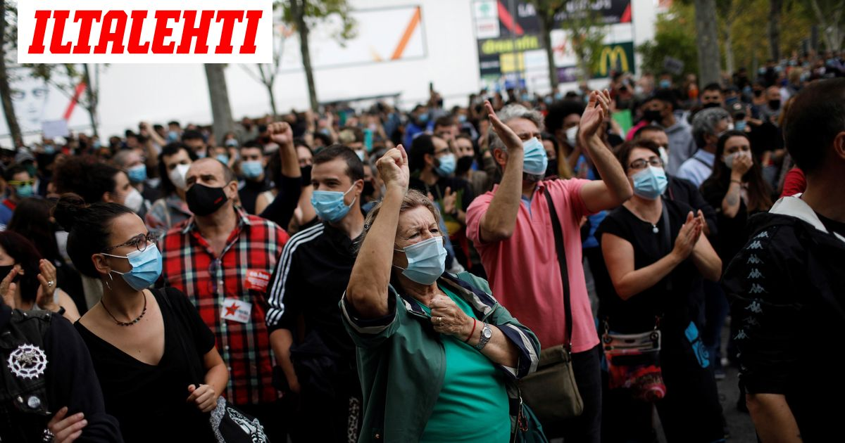 Madrid sulkee köyhät alueet koronan takia