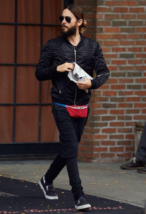 Jared Leto on jo pitkään viihtynyt pitkässä tukassa ja tuuheassa kasvokarvoituksessa.