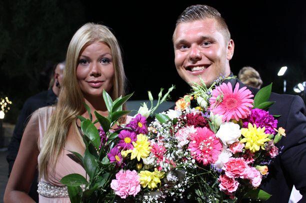 Christian jakoi voittonsa Viivin kanssa.
