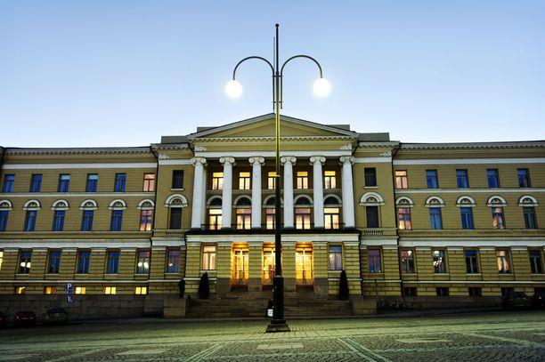 Helsingin yliopiston rehtori jää sairauslomalle.