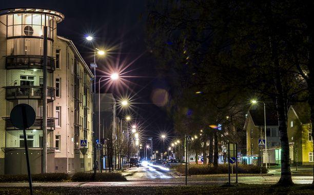 Viimeisin havainto Kai-Pekka Savolaisesta on marraskuun lopulta Kasperin kaupunginosasta Seinäjoelta. Kuvassa Seinäjoen keskustaa.