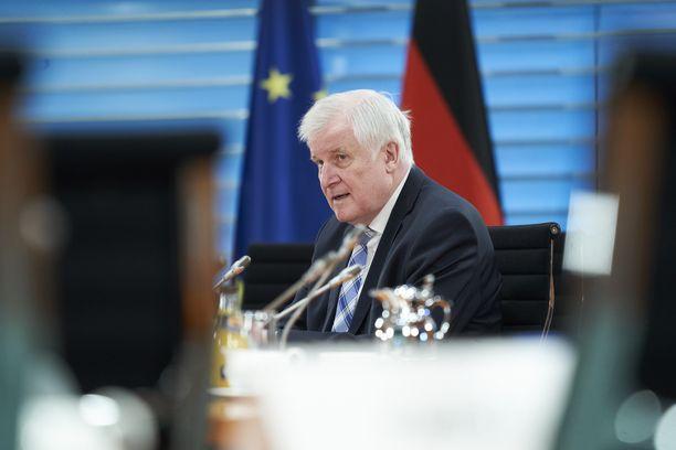 Saksan sisäministeri Horst Seehofer.
