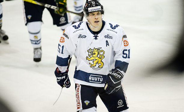Espoon kasvatti Tomi Sallinen on saavuttanut Suomen maajoukkueessa kaksi MM-hopeaa.