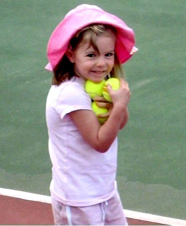 Madeleine katosi kolmevuotiaana.
