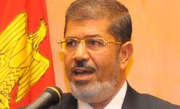 Mursi on vasta valittu presidentin virkaan Egyptissä.