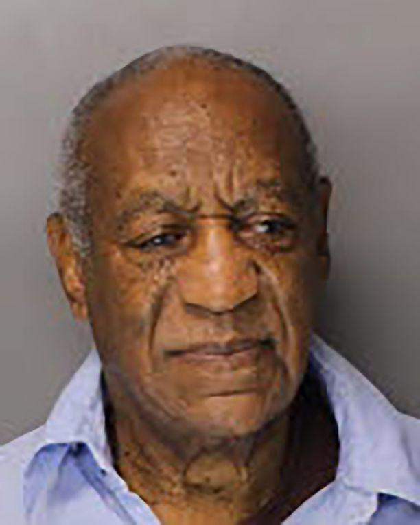 Bill Cosby tuoreessa vankilakuvassa.