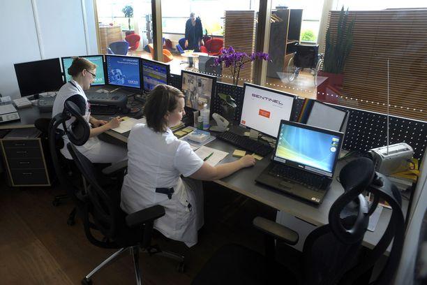 Helsingissä sijaitsevan syöpäsairaala Docrateksen potilaista 15 prosenttia on ruotsalaisia. Kuva vuodelta 2010.
